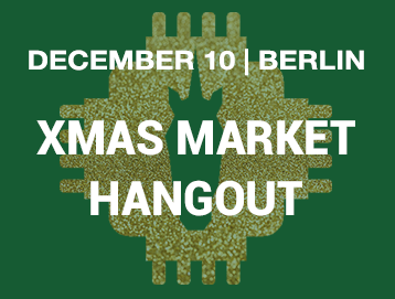 Unicorns in Tech Hangout – Xmas Markt edition